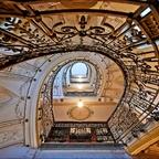 Juwel der Gründerzeit - Blick nach oben