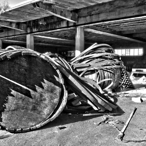 Lost Place alte Firma