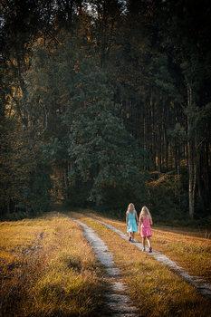 im dunklen Wald............