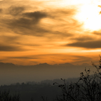 Sonnenuntergang - Freiberg