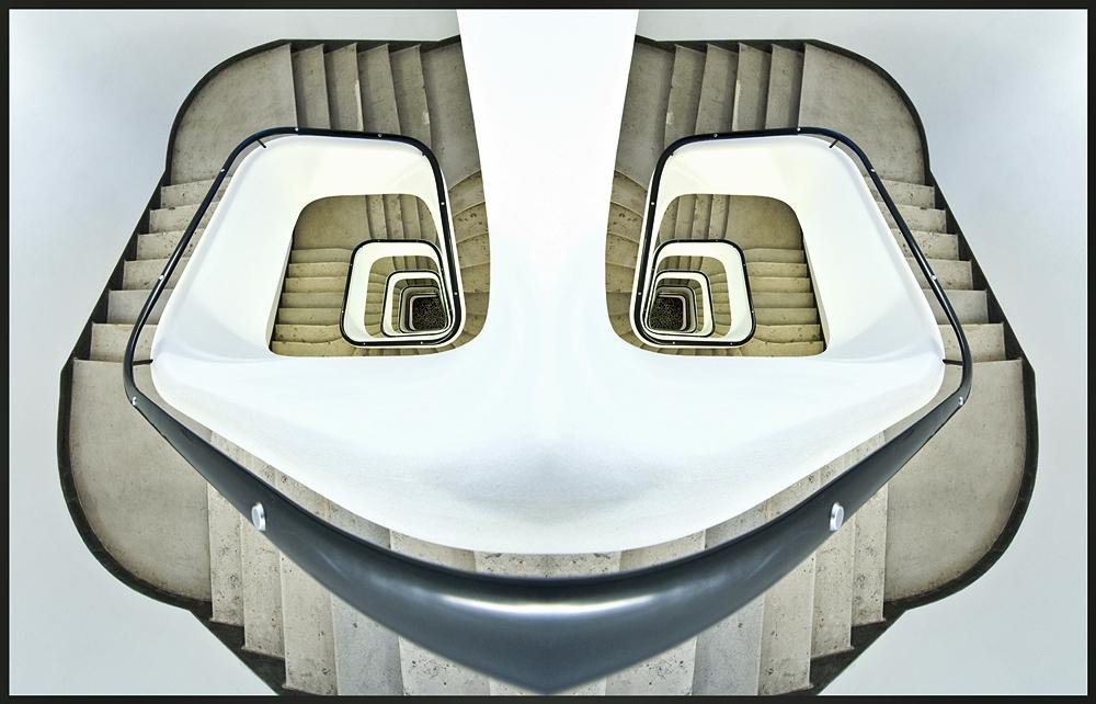 Das lustige Treppenhaus