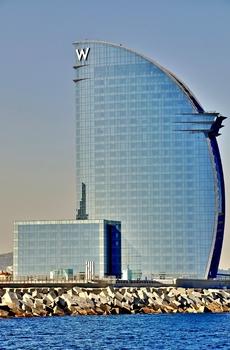 "Das ""W Barcelona"" - Hotel"
