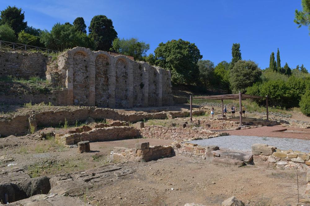 Römische Ausgrabungen (Populonia)