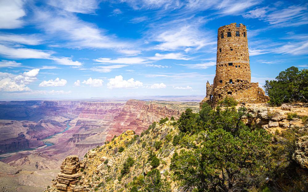 Grand Canyon - Desert View Watchtower
