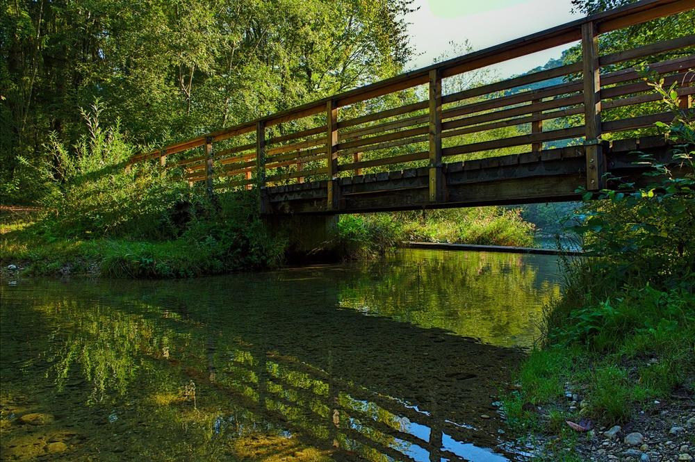 Alte kleine Traunbrücke
