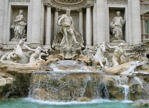 Trevi-Brunnen / Rom