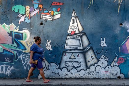 Das freche Grafitti