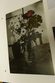 Kolorierter Blumenstrauß