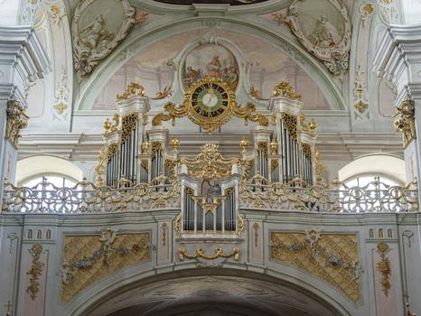 Orgel im Licht