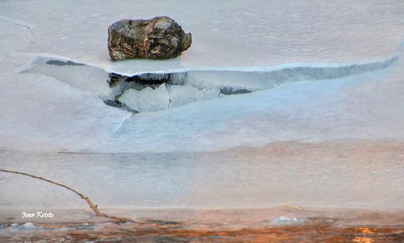 Ferkl am Eis