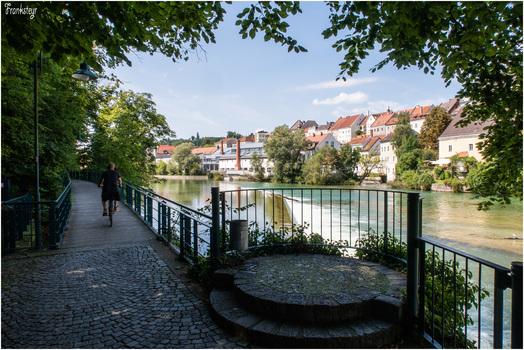 Hangbrücke Schlossleite in Steyr