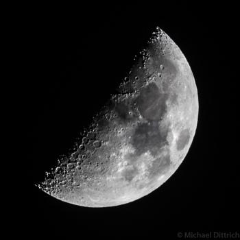 Eine Mondphase