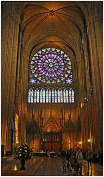 Paris, Notre Dame, Rosette
