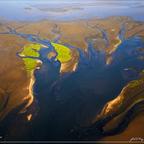 Flussdelta in Swakopmund - Namibia