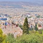 """""""Über"""" den Dächern von Athen"""