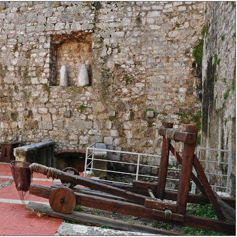 Krk, Frankopanski Festung