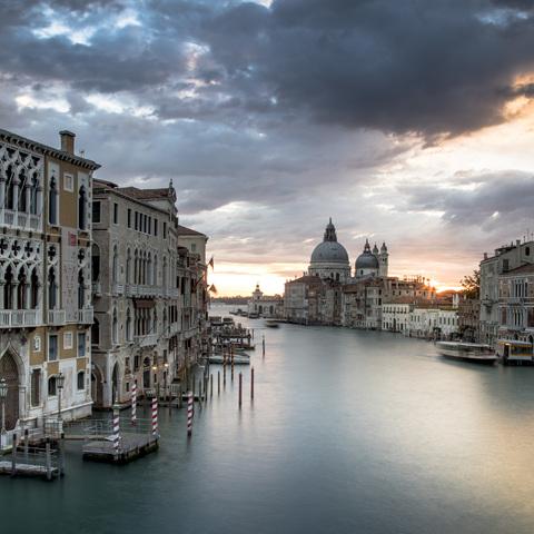 Sonnenaufgang in Venedig II
