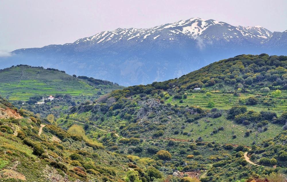 es wird Frühling in den Bergen... / Kreta