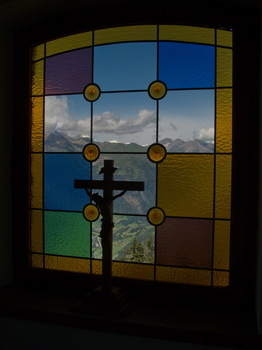 Kapelle mit Glocknerblick